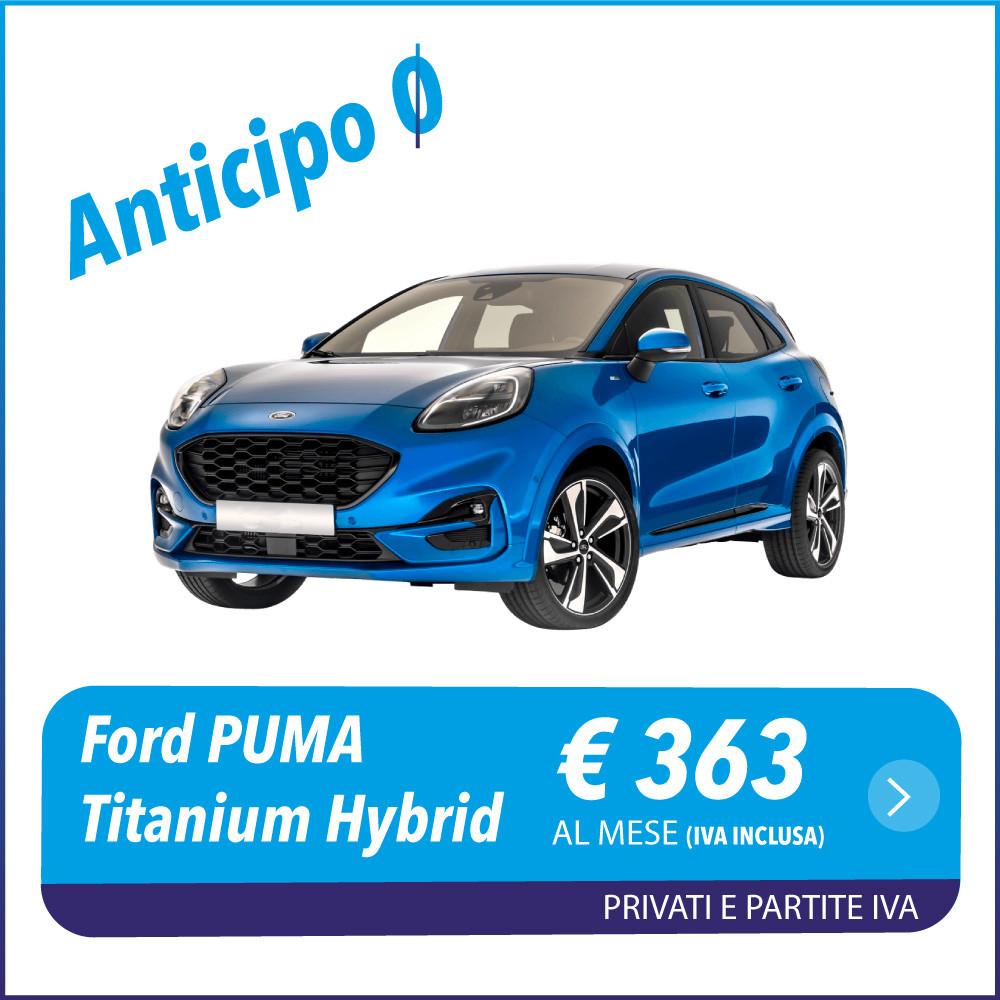 Ford Puma Hybrid Anticipo-0 noleggio a lungo termine