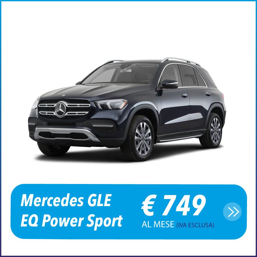 Mercedes GLE EQ Power Sport Noleggio a lungo termine