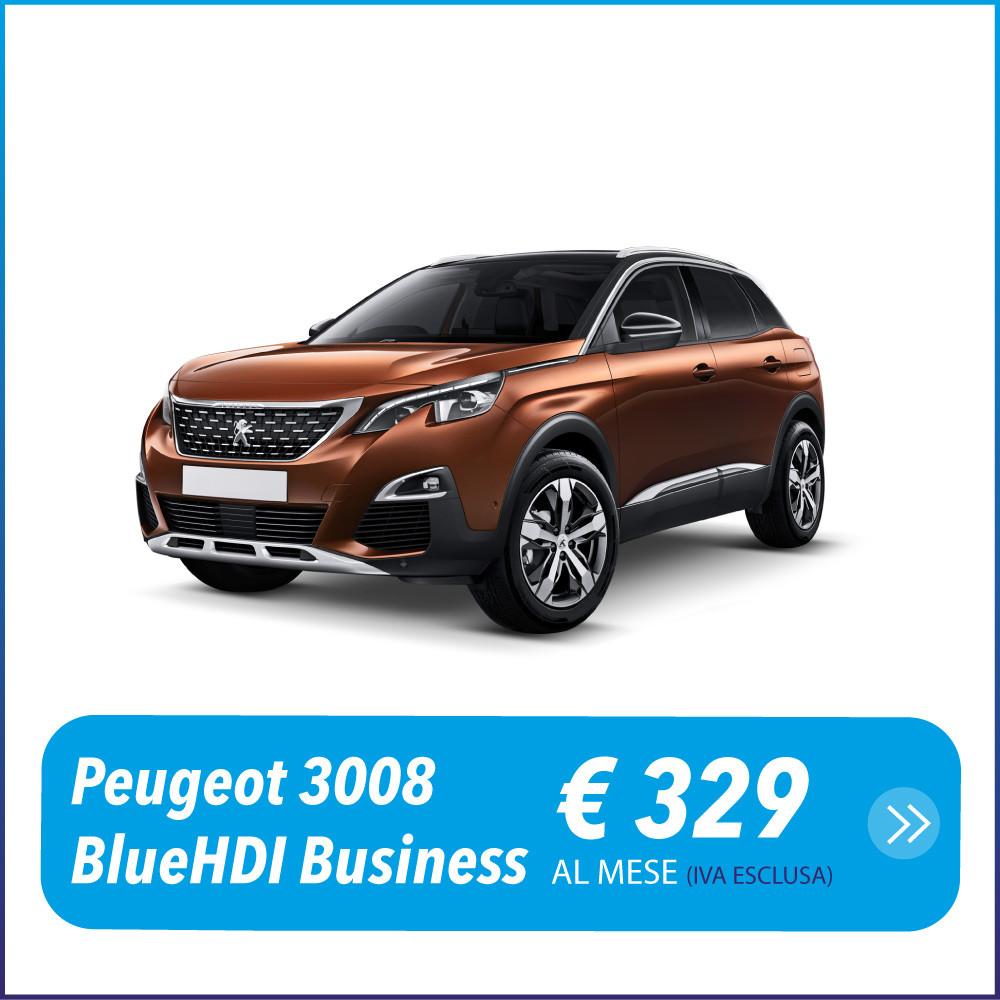 Peugeot 3008 disponibile per noleggio a lungo termine