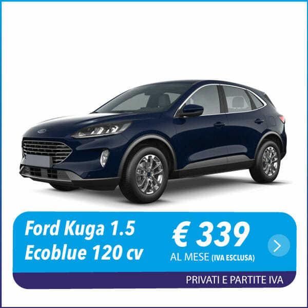 Ford Kuga 1.5 Ecoblue 120 cv aut. 2WD Titanium Business nlt