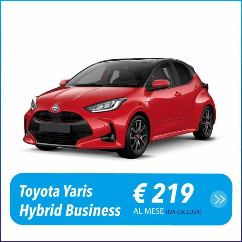 Toyota Yaris Ibrida 1.5 5 Porte Business Noleggio a lungo termine