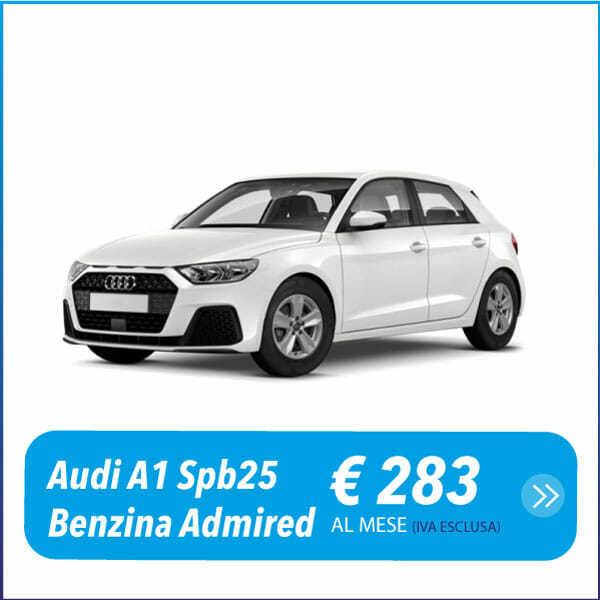 Audi A1 a noleggio a lungo termine prato e roma