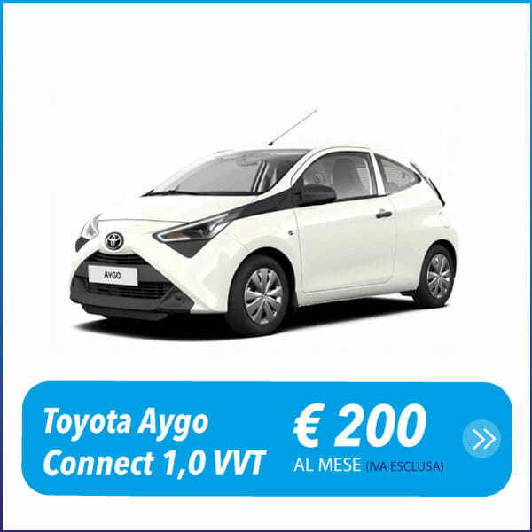 Toyota Aygo Connect - Noleggio a lungo termine