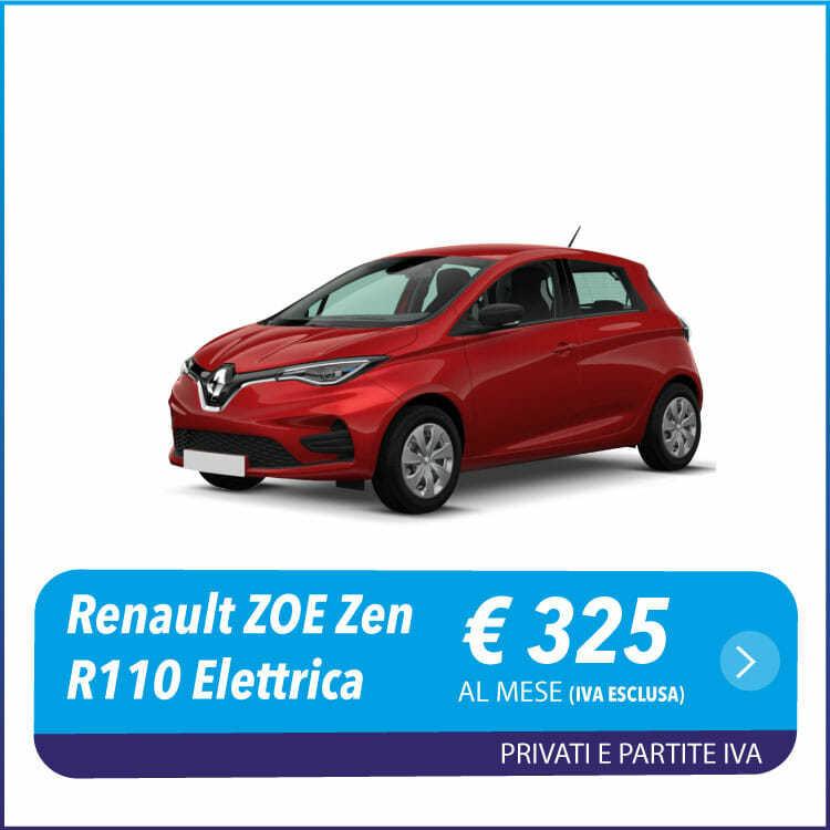 Renault Zoe Zen R110 nlt - noleggio a lungo termine