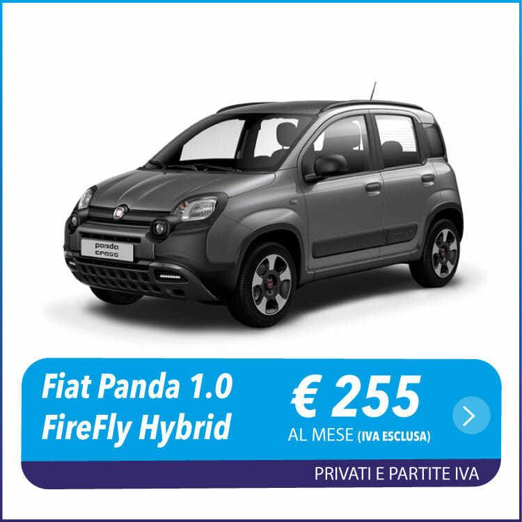 Fiat Panda 1.0 noleggio a lungo termine