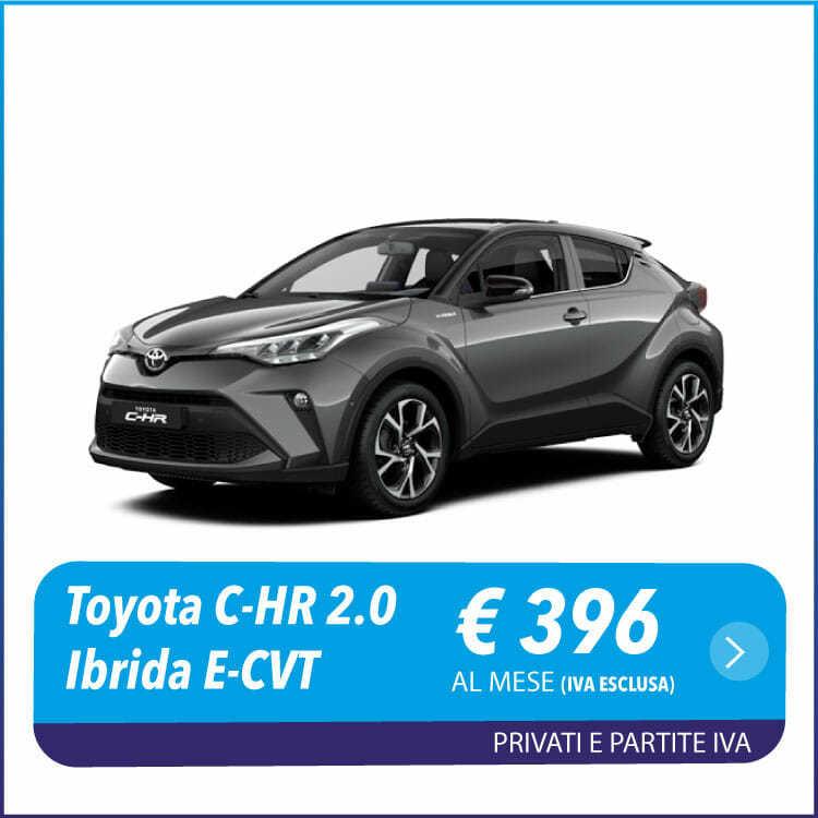 Toyota C-HR noleggio a lungo termine Toscana e Lazio